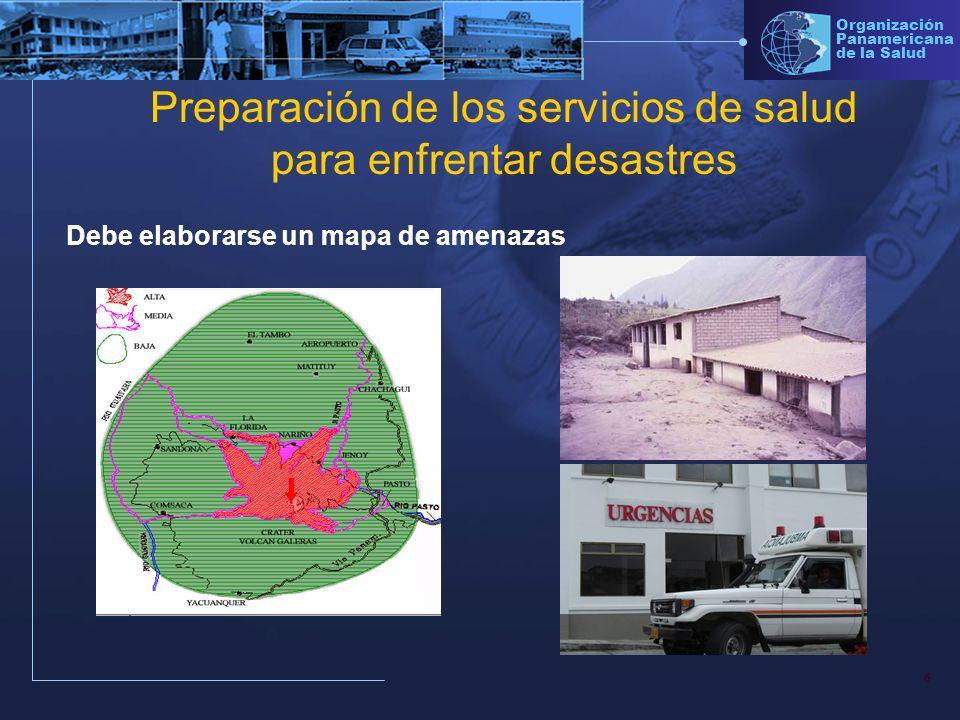 Preparación de los servicios de salud para enfrentar desastres