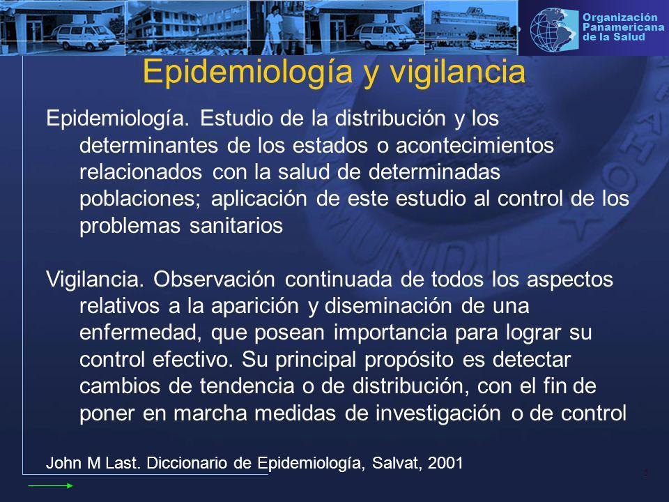 Epidemiología y vigilancia