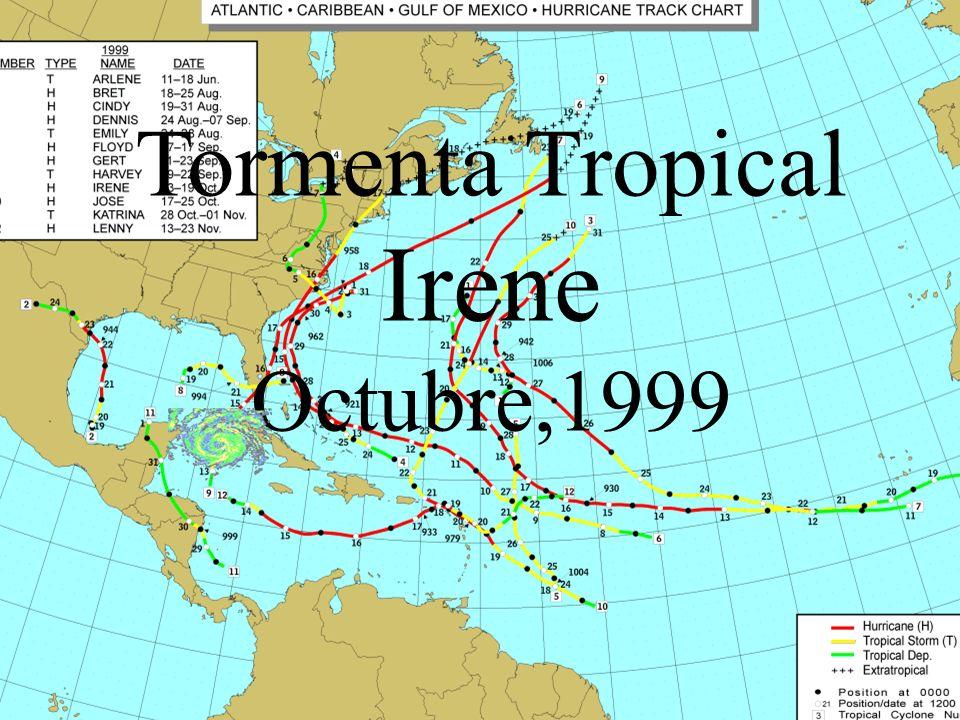Tormenta Tropical Irene Octubre,1999