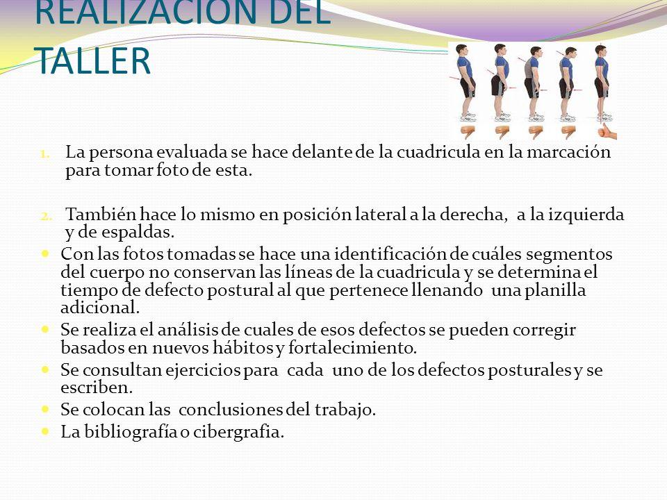 REALIZACIÓN DEL TALLER