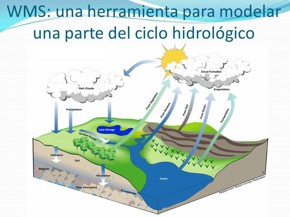 WMS: una herramienta para modelar una parte del ciclo hidrológico