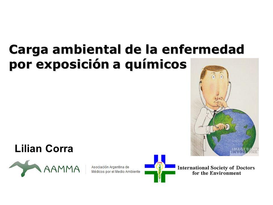 Carga ambiental de la enfermedad por exposición a químicos