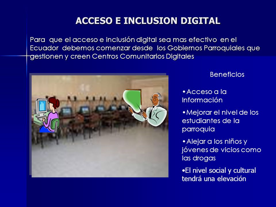 ACCESO E INCLUSION DIGITAL