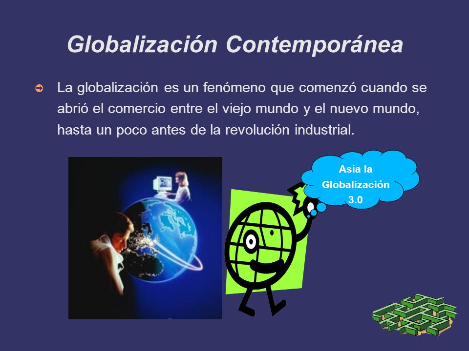 Globalización Contemporánea