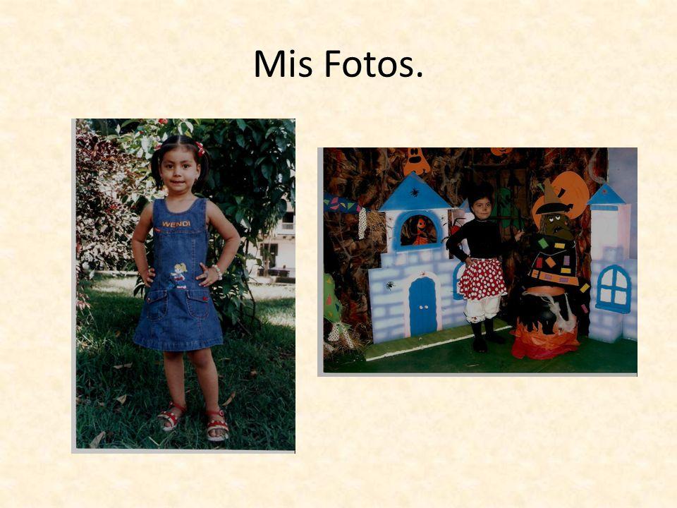 Mis Fotos.