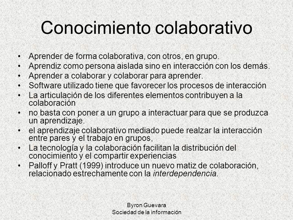 Conocimiento colaborativo