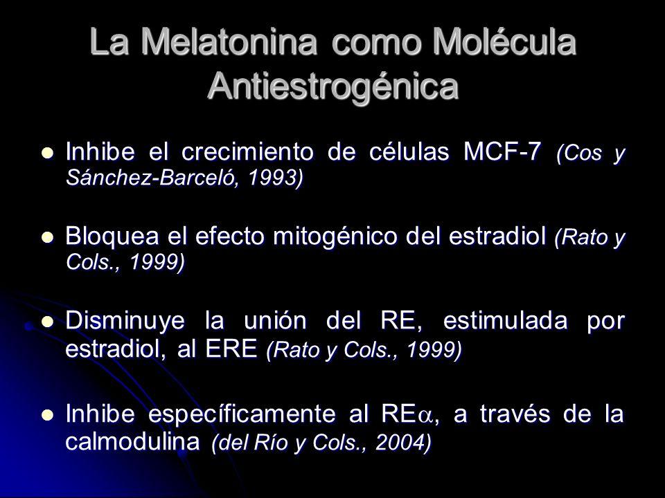 La Melatonina como Molécula Antiestrogénica