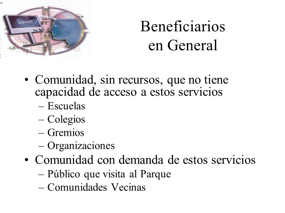 Beneficiarios en General