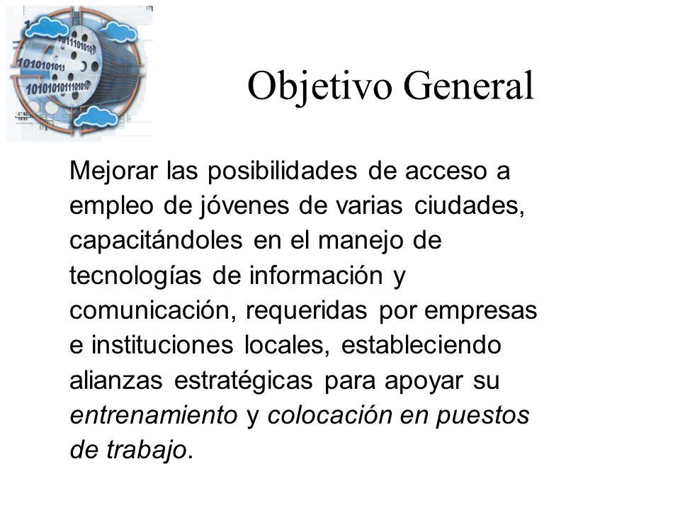 Objetivo General Mejorar las posibilidades de acceso a