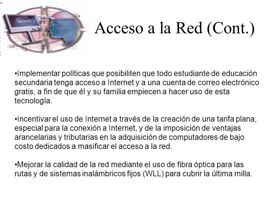 Acceso a la Red (Cont.)