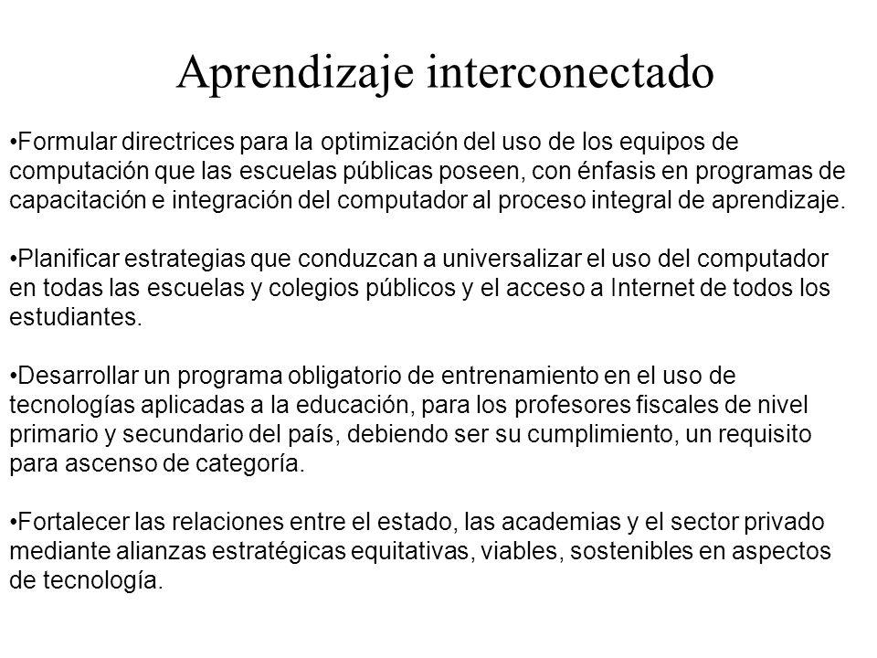 Aprendizaje interconectado