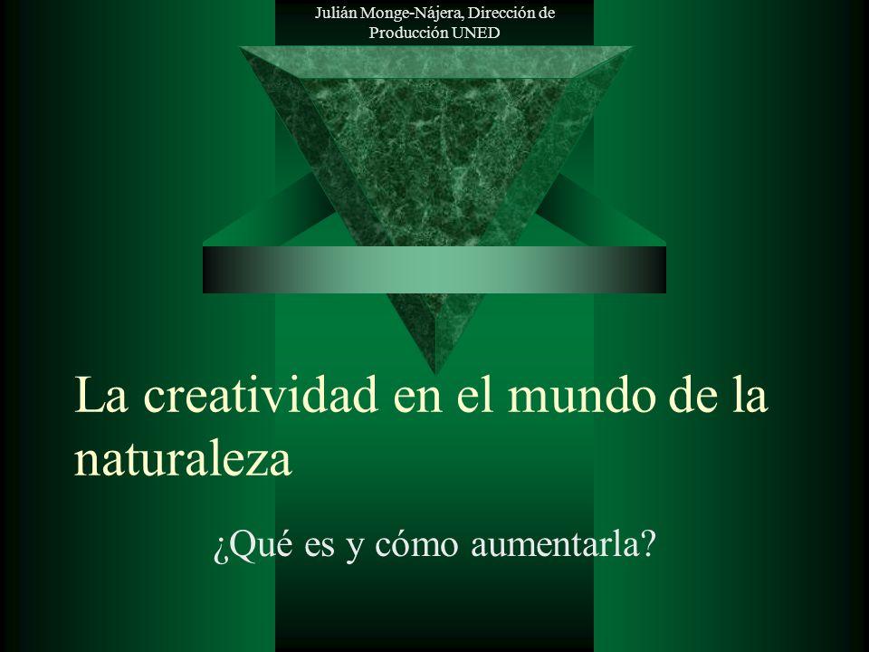 La creatividad en el mundo de la naturaleza