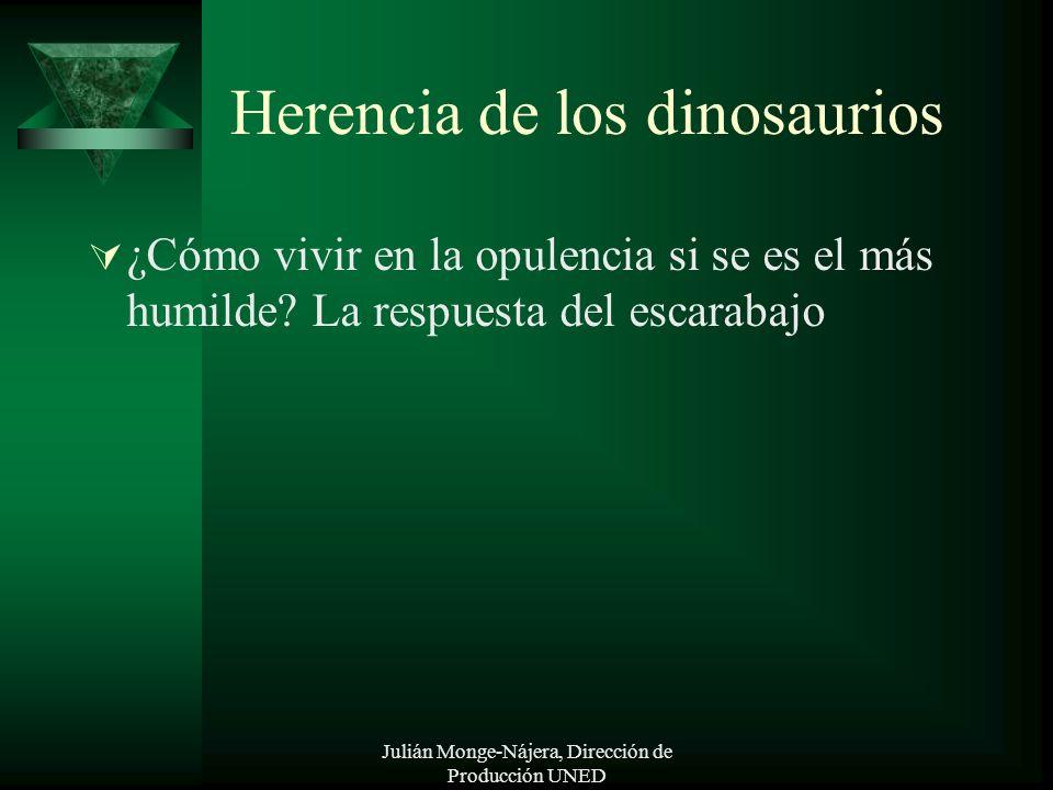 Herencia de los dinosaurios