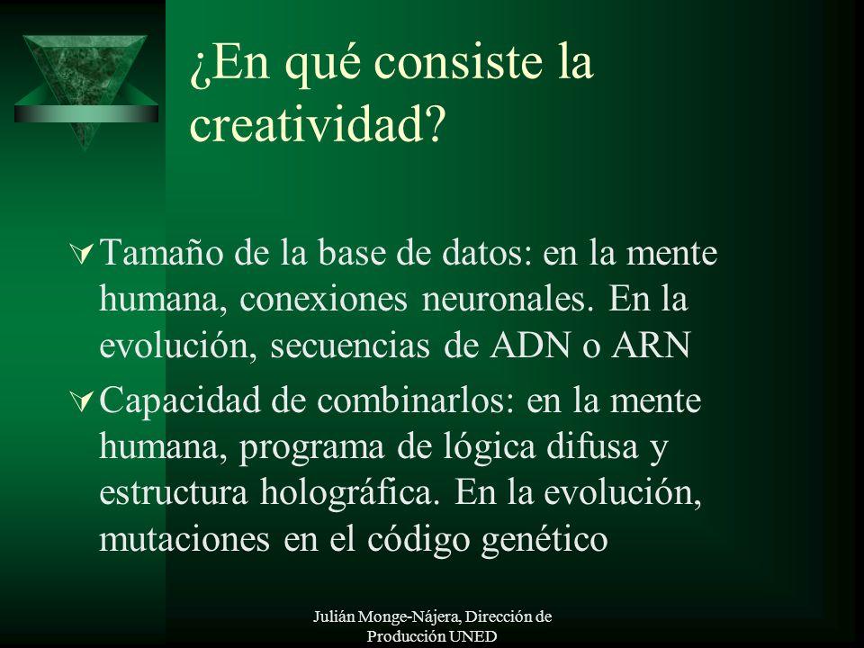 ¿En qué consiste la creatividad