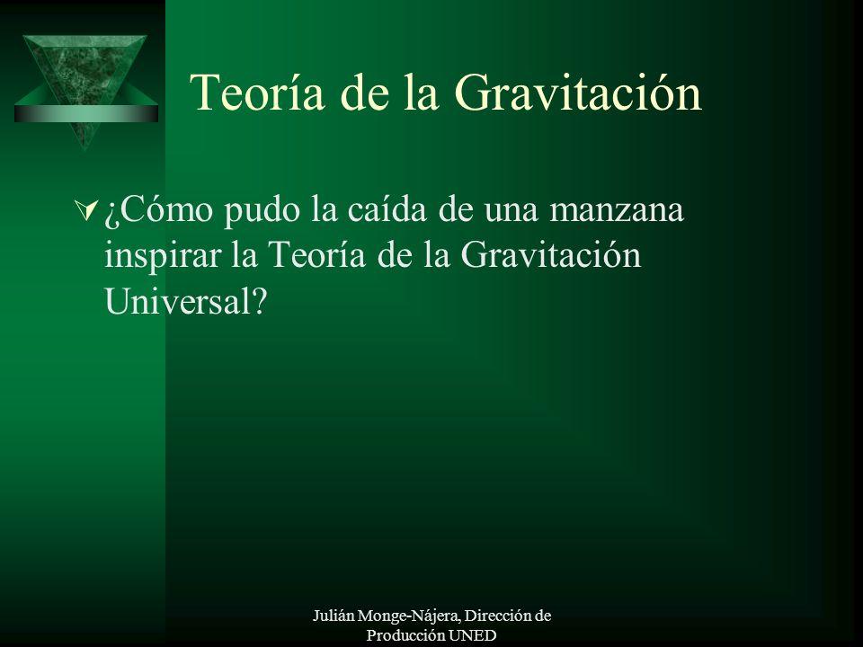 Teoría de la Gravitación