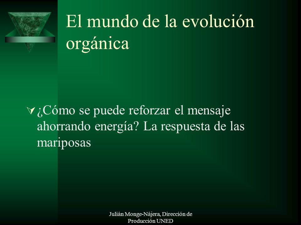 El mundo de la evolución orgánica