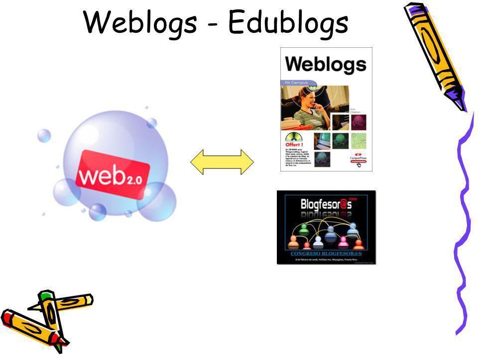 Weblogs - Edublogs