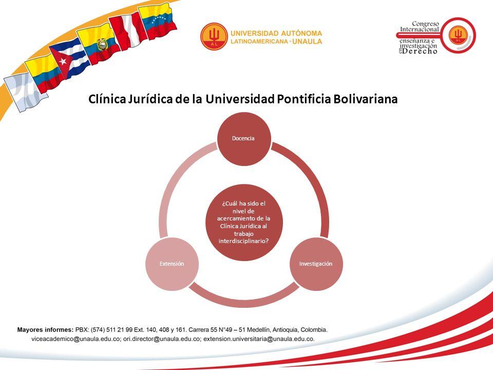 Clínica Jurídica de la Universidad Pontificia Bolivariana