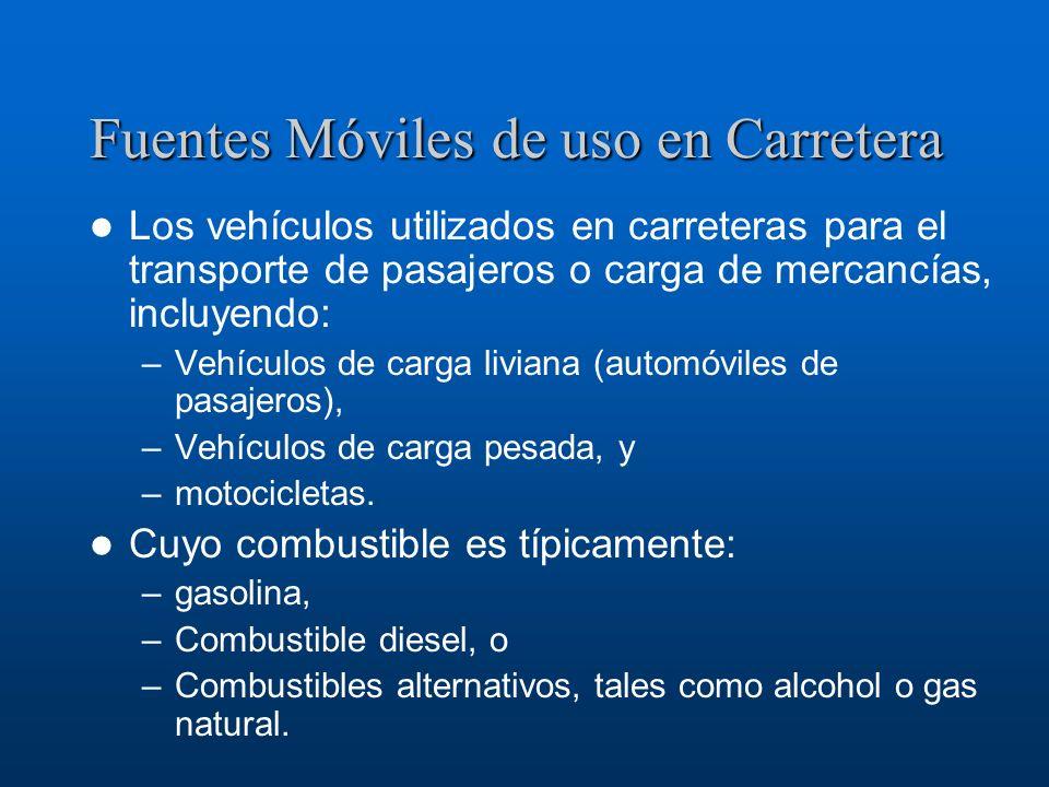 Fuentes Móviles de uso en Carretera