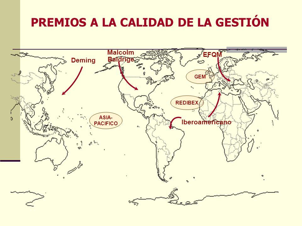 PREMIOS A LA CALIDAD DE LA GESTIÓN