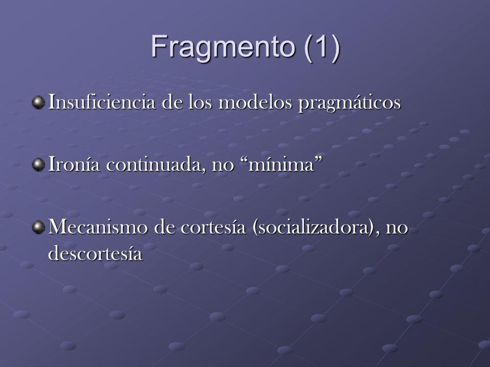 Fragmento (1) Insuficiencia de los modelos pragmáticos