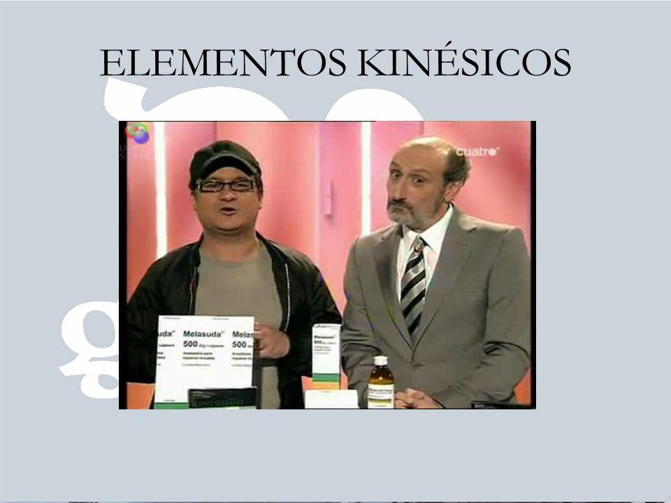 ELEMENTOS KINÉSICOS