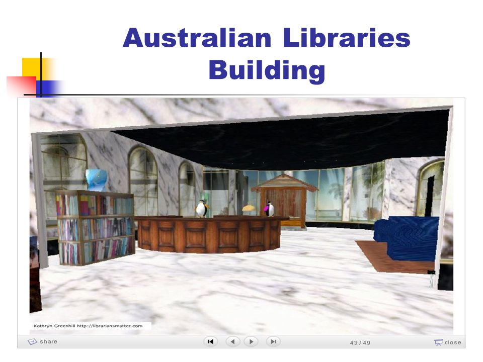 Australian Libraries Building
