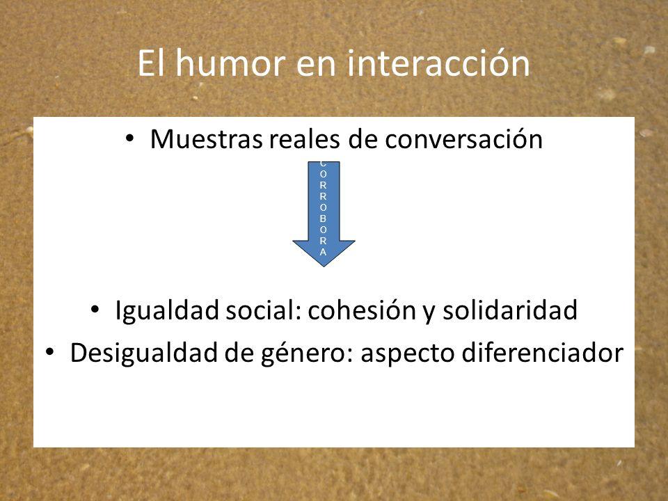El humor en interacción