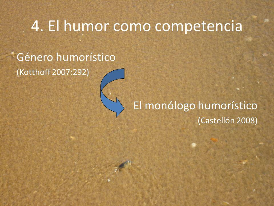 4. El humor como competencia