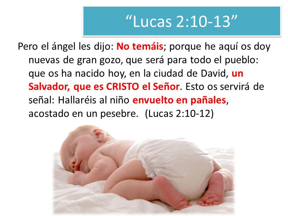 Lucas 2:10-13