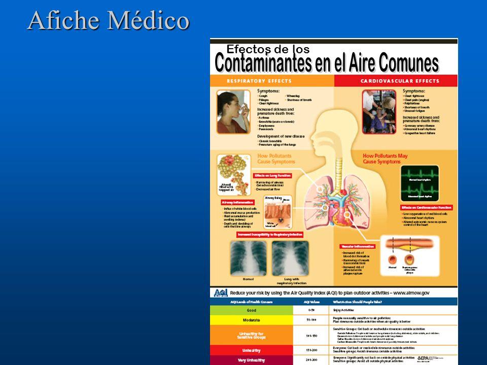 Contaminantes en el Aire Comunes