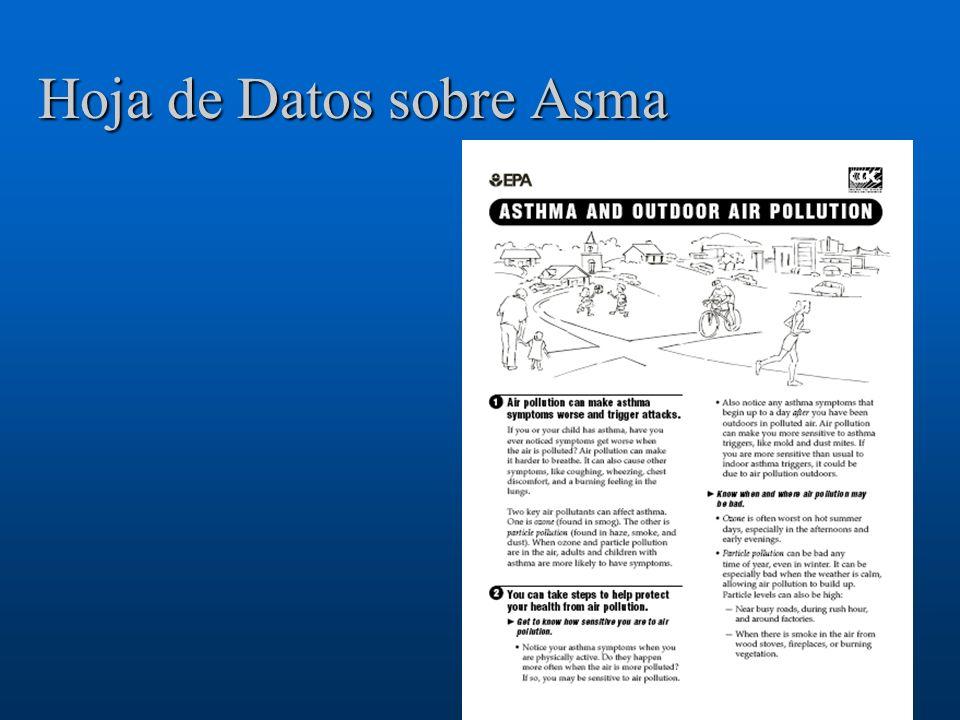 Hoja de Datos sobre Asma