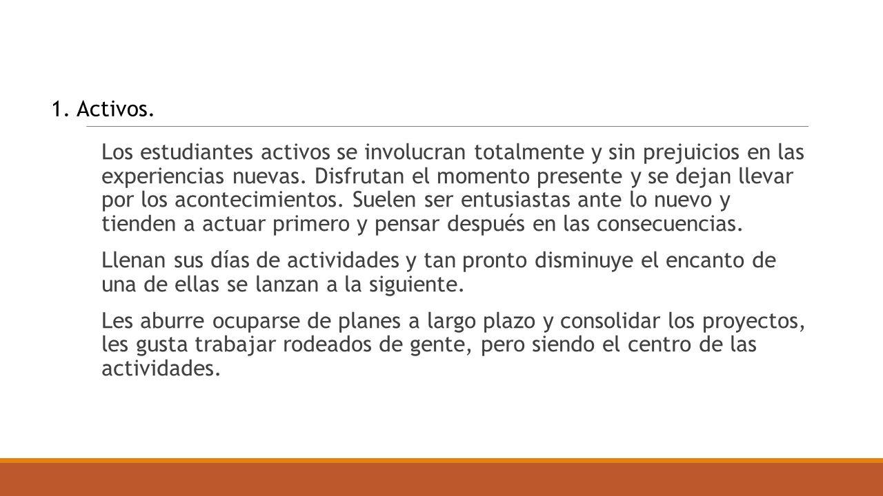 1. Activos.