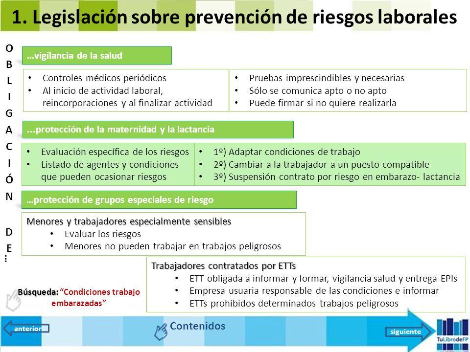 Unidad 9 la prevenci n de riesgos legislaci n y organizaci n ppt video online descargar - Cambiar de medico de cabecera por internet ...