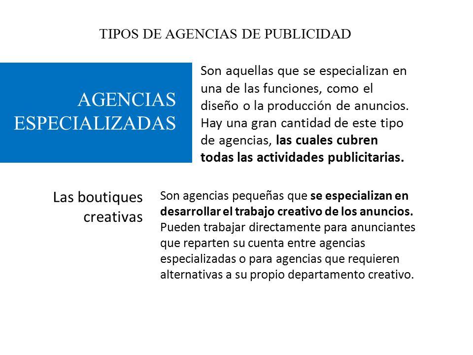 Tipos de agencias de publicidad ppt video online descargar for Agencia de publicidad