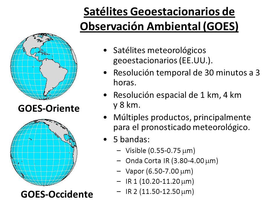 Satélites Geoestacionarios de Observación Ambiental (GOES)