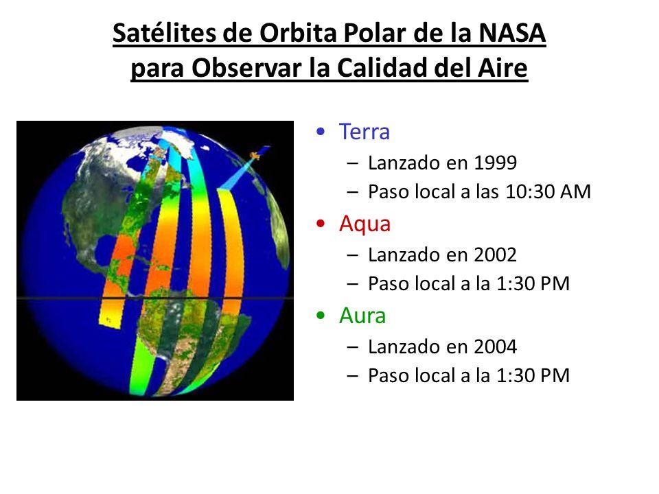 Satélites de Orbita Polar de la NASA para Observar la Calidad del Aire