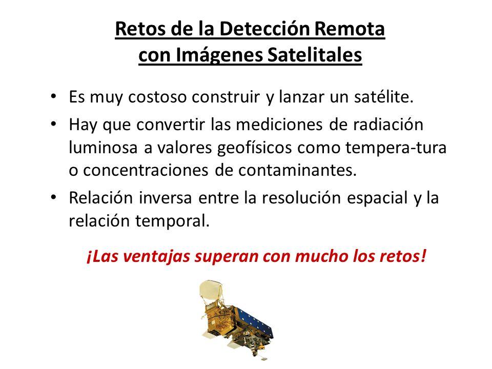 Retos de la Detección Remota con Imágenes Satelitales