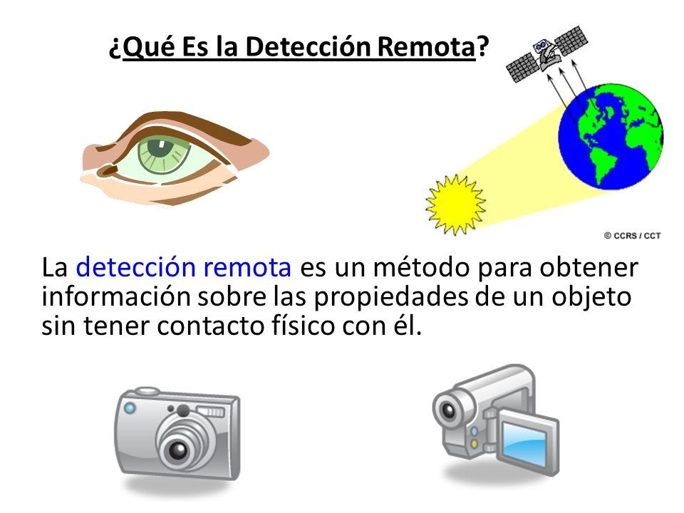 ¿Qué Es la Detección Remota