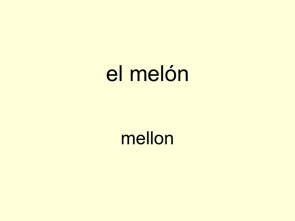 el melón mellon