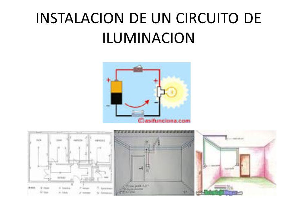 INSTALACION DE UN CIRCUITO DE ILUMINACION