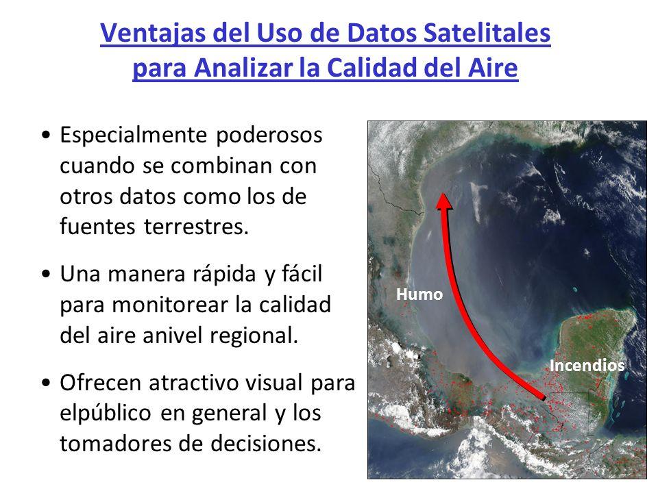 Ventajas del Uso de Datos Satelitales para Analizar la Calidad del Aire