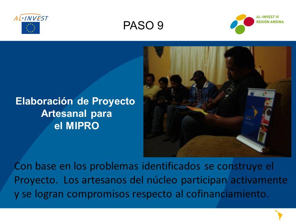 Elaboración de Proyecto Artesanal para el MIPRO