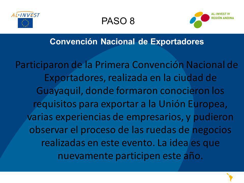 Convención Nacional de Exportadores