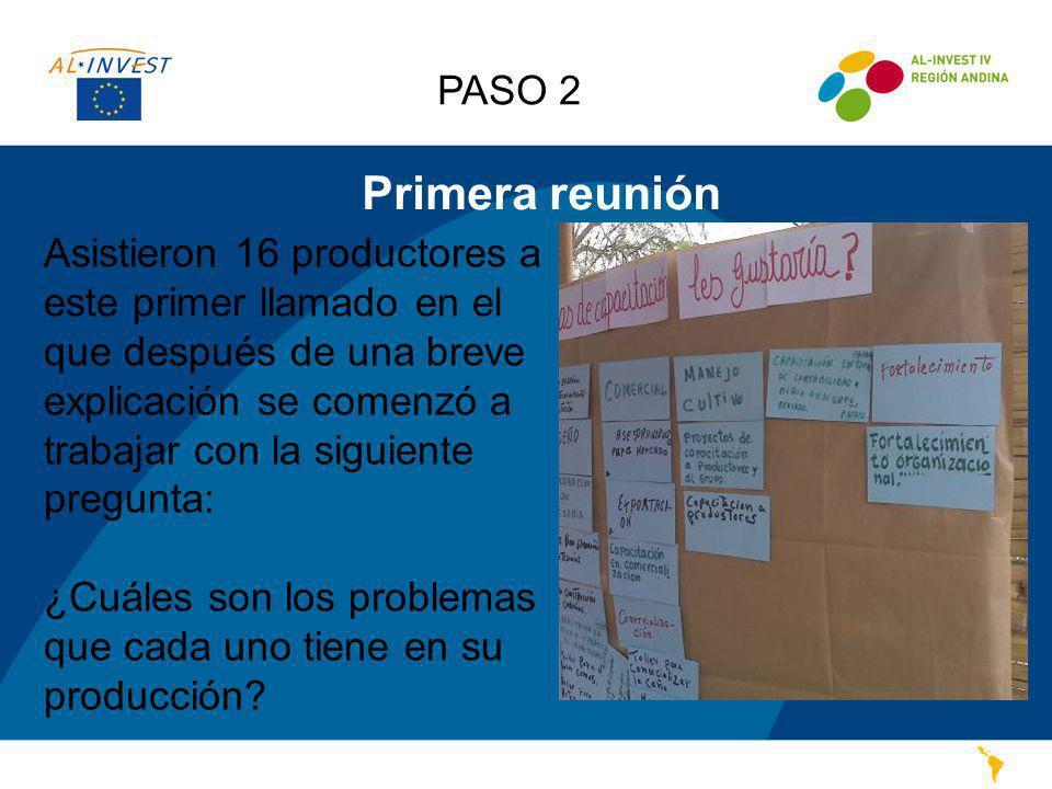 PASO 2 Primera reunión.