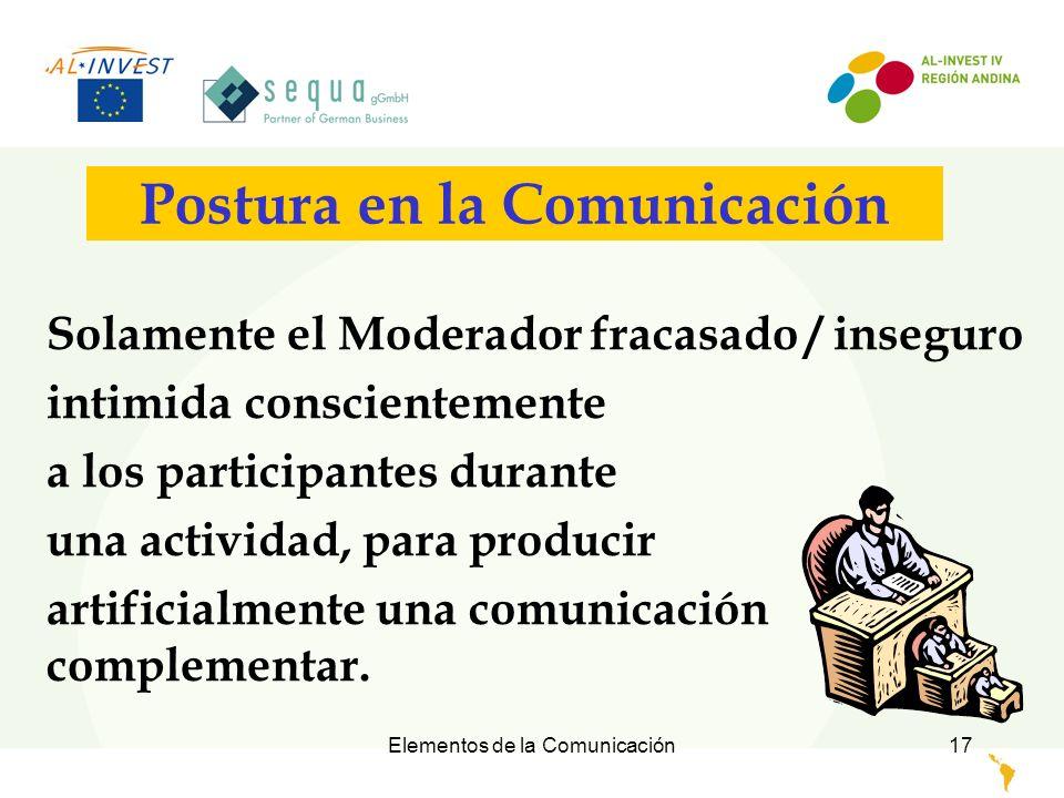 Postura en la Comunicación