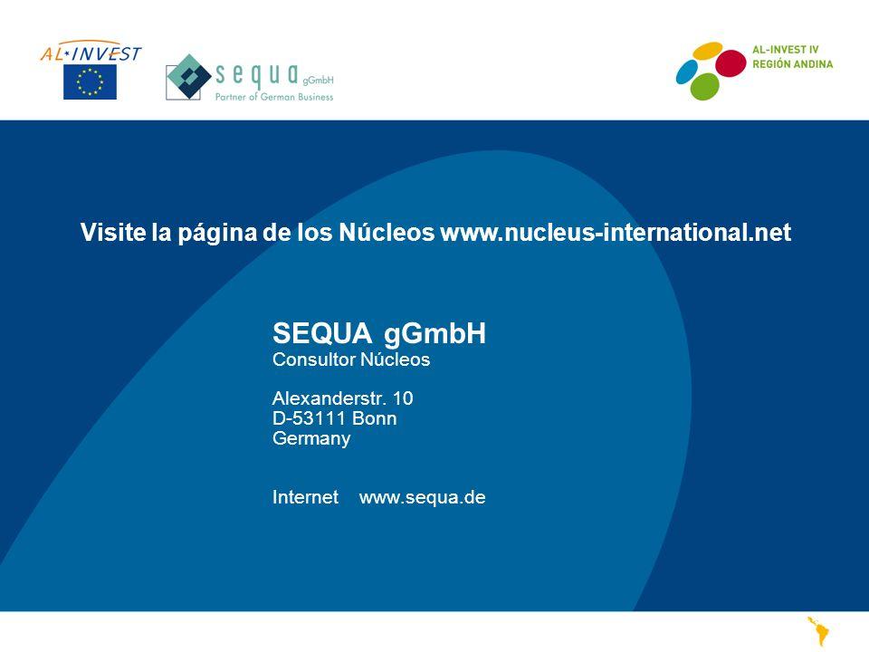 Visite la página de los Núcleos www.nucleus-international.net