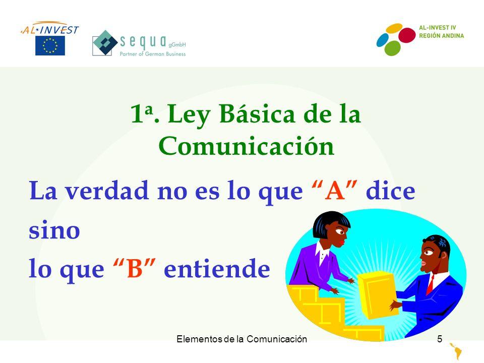 1a. Ley Básica de la Comunicación