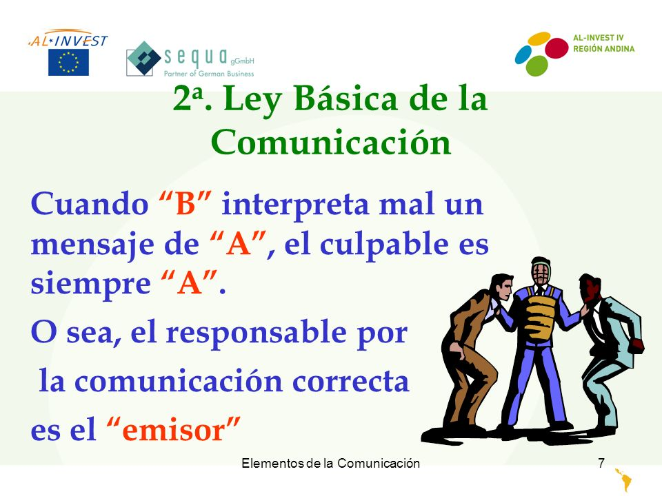 2a. Ley Básica de la Comunicación