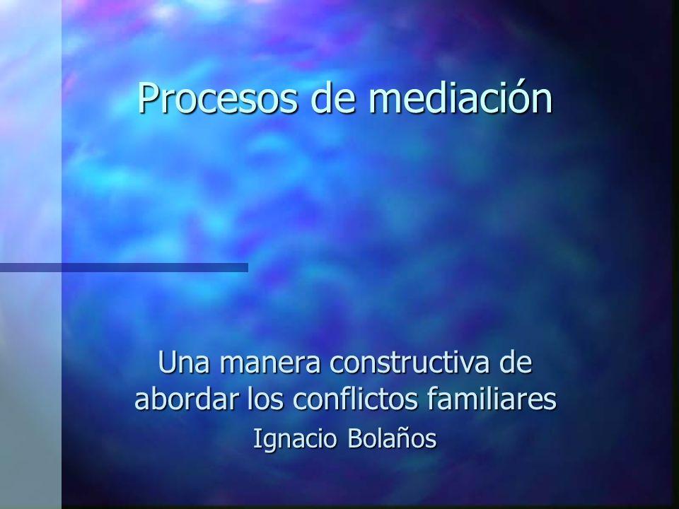 Una manera constructiva de abordar los conflictos familiares